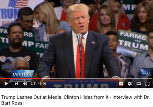 Trump lashes out