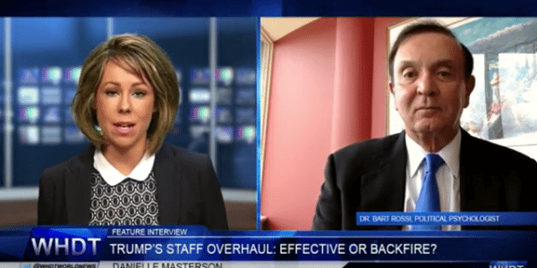 Trump s Staff Overhaul Effective or Backfire Interview with Dr. Bart Rossi