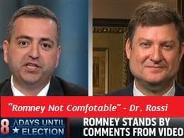 RomneynotComfortable DrRossi