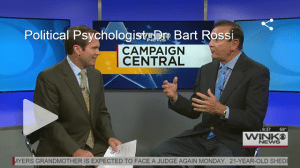 political psychologist Dr Bart Rossi PhD