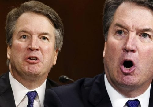 Body Language of Kavanaugh Hearing