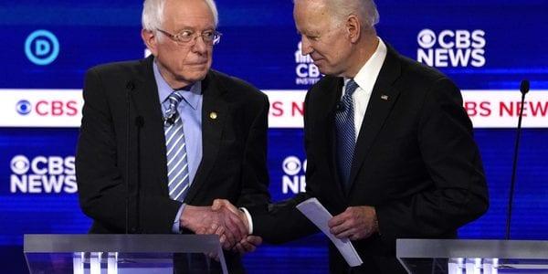 Sander vs Biden