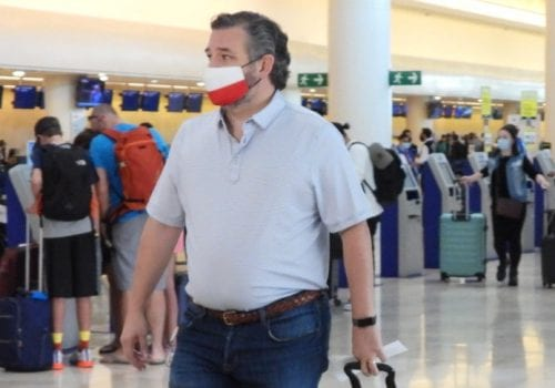 Cancun Ted Cruz