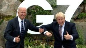 biden johnson at G7