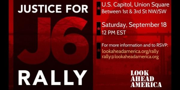 Justice For J6 rioters rally